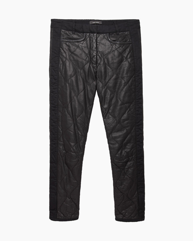 Calista Quilted Leather Pant