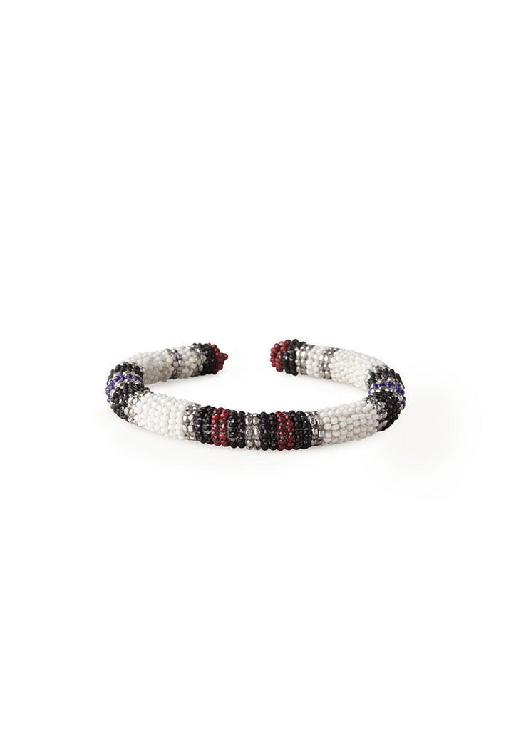 Chiali Snow Bird Beaded Cuff