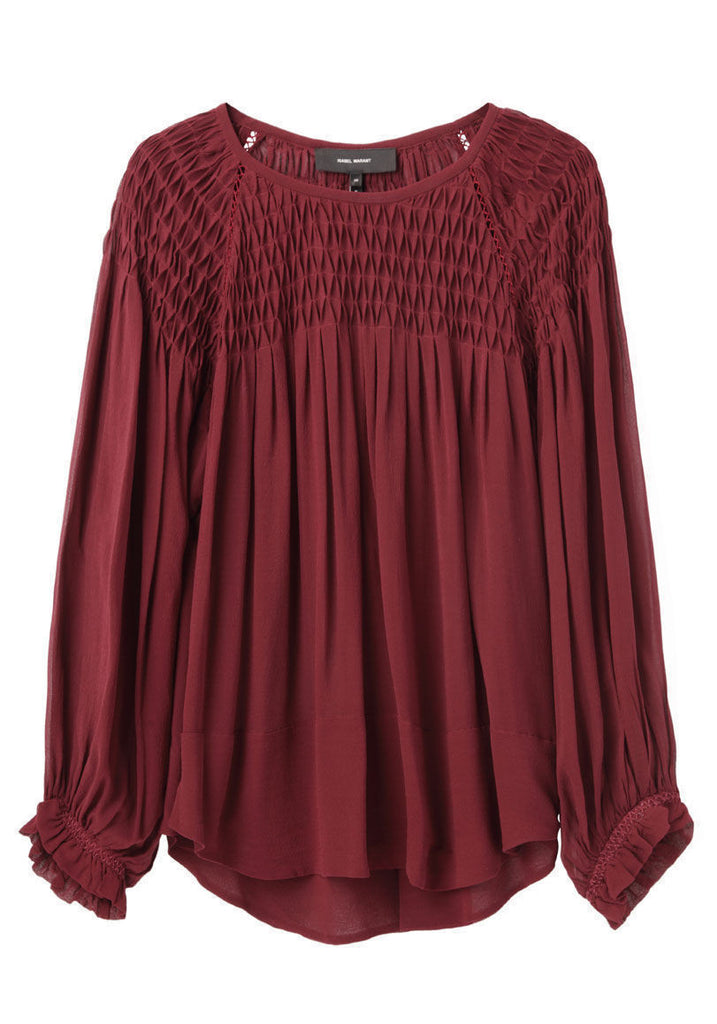 Dajo Smocking Top
