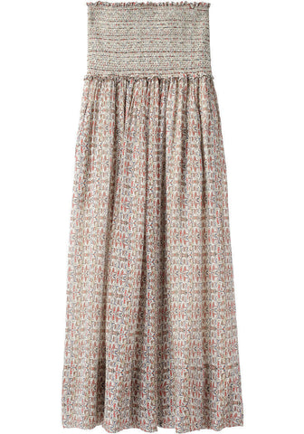Dave Printed Long Skirt