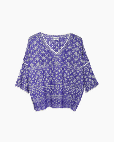 Bela Embroidered Top