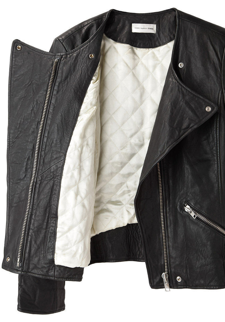 Bradi Washed Leather Jacket