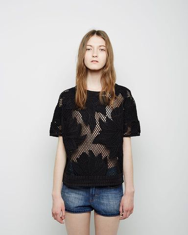 Calice Embroidered Top