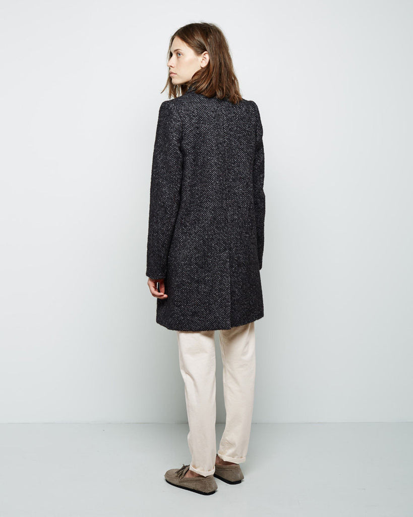 Daphne Herringbone Coat