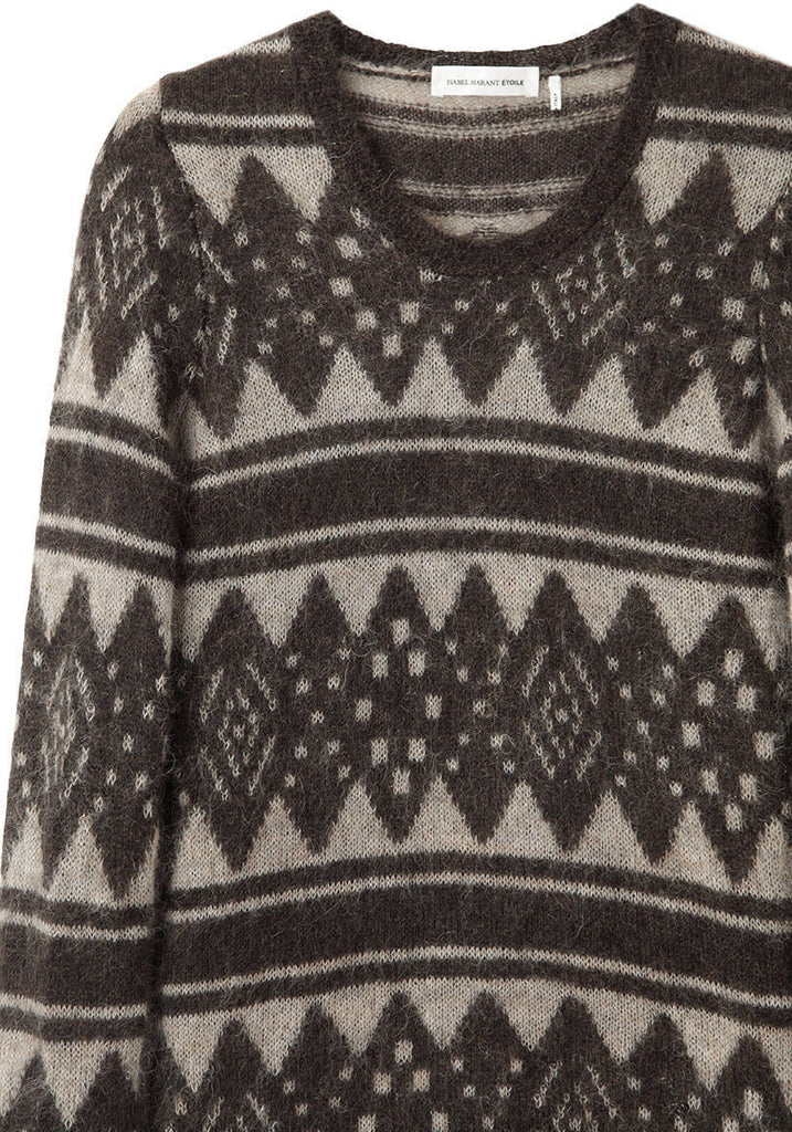 Falk Graphic Knit