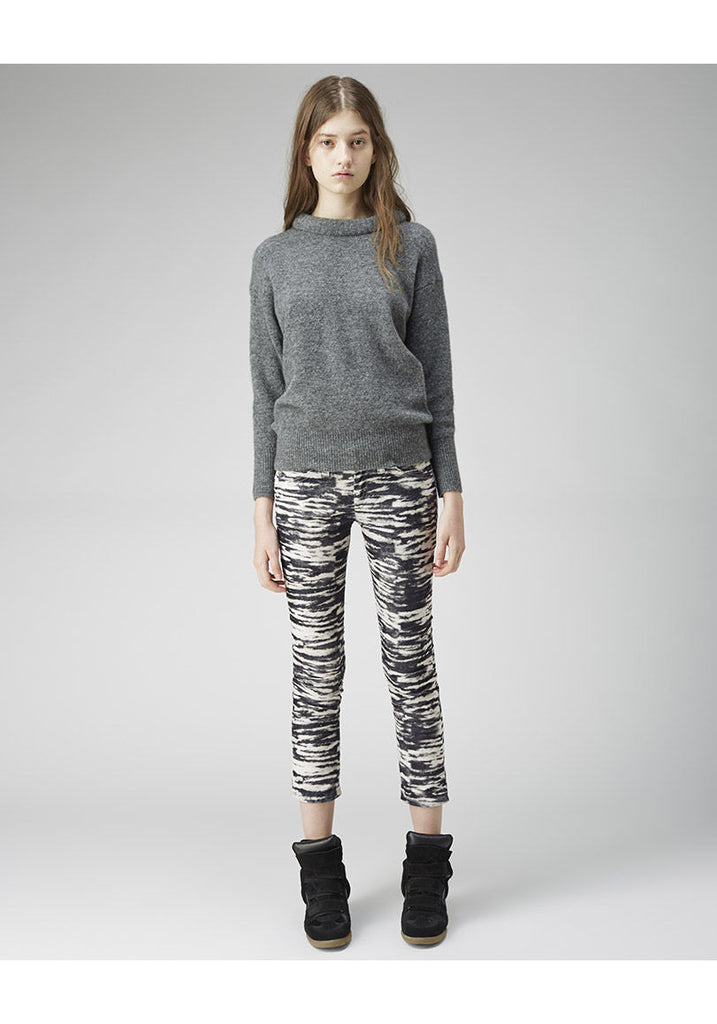 Irwin Cropped Tiger Jean