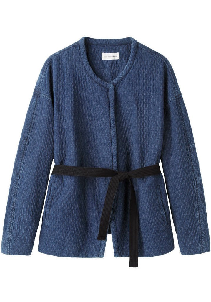 Karlen Quilted Denim Jacket