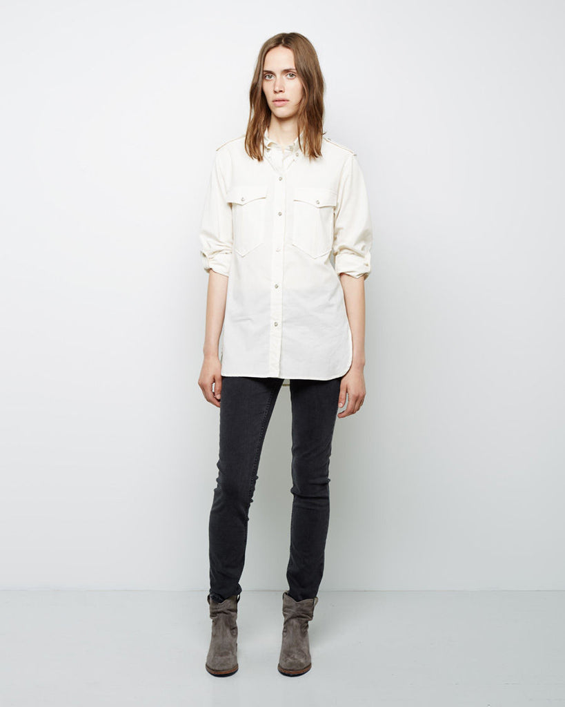 Filipa Double Pocket Chambray Shirt