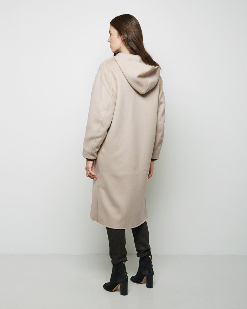 Hacene Hooded Coat