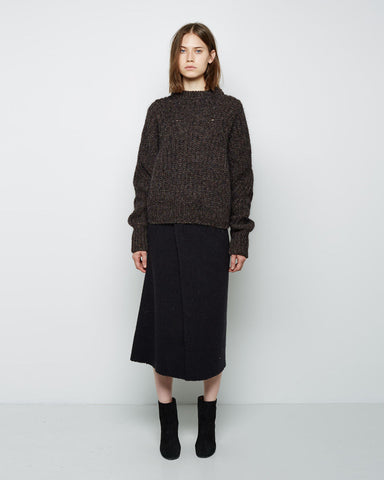 Kiara Wool Wrap Skirt