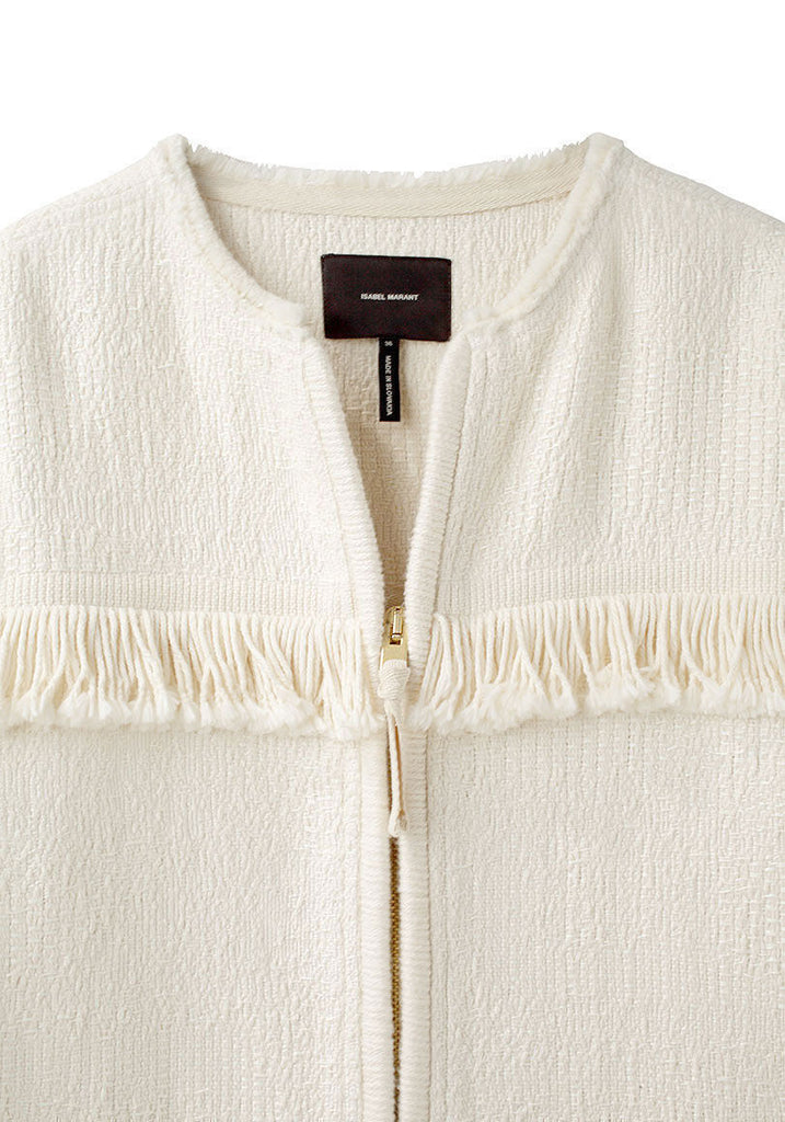 Leoni Zip-Up Knit Coat