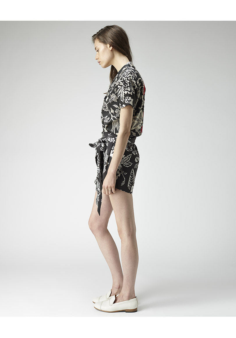 Meriel Printed Shorts
