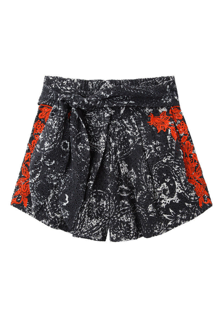 Nash Embroidered Shorts