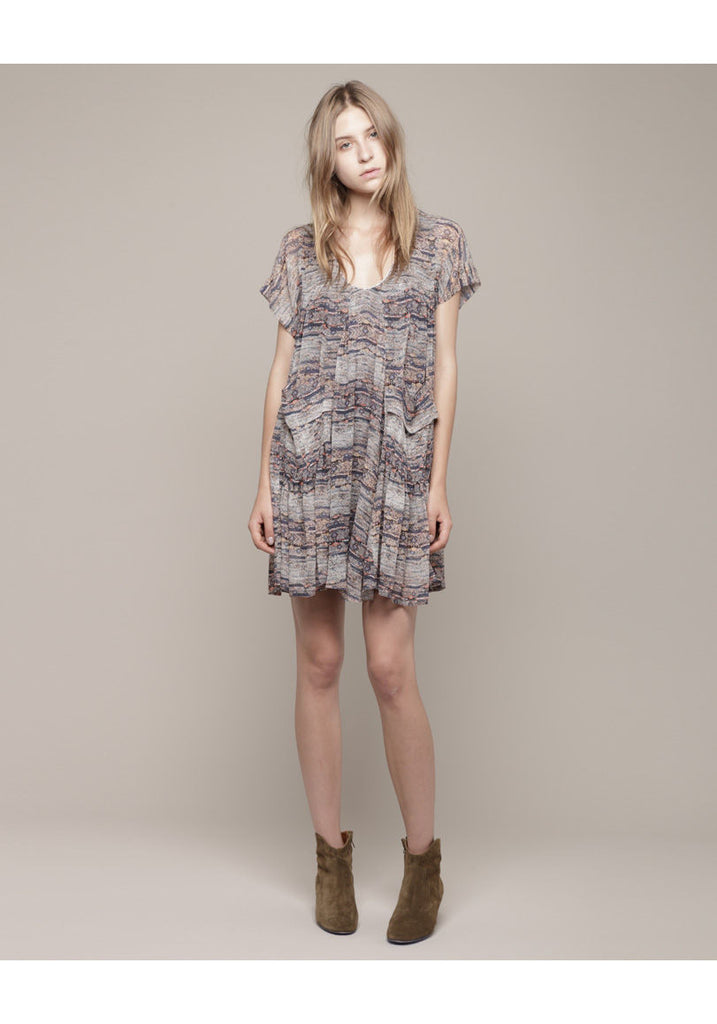 Nesto Short Sleeved Print Dress