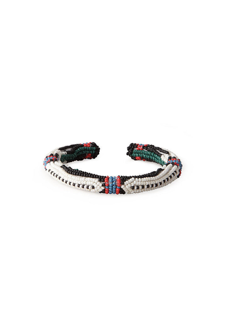 Ojibwee Boy Beaded Cuff