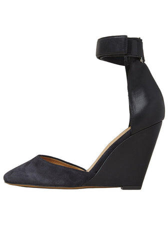 Patty Suede Wedge
