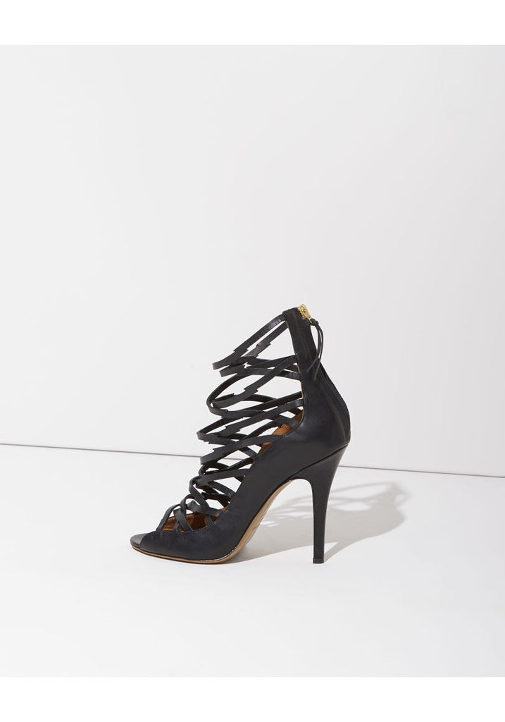 Paw Strappy Heeled Sandal