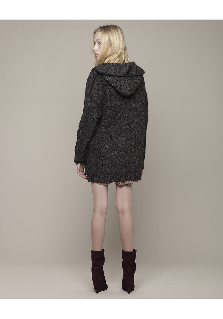 Qing Chunky Knit W/ Zipper
