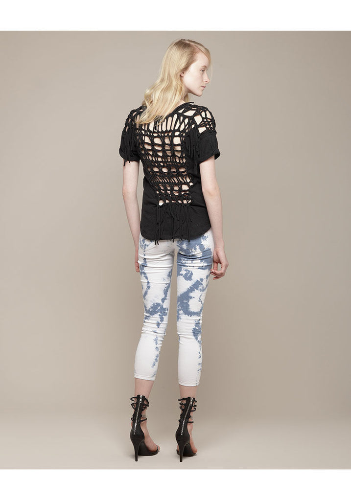 Temo Open Weave T-Shirt