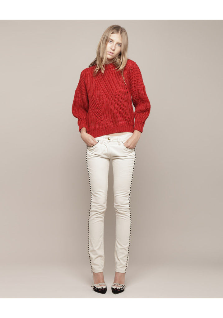 Theo Cropped Sweater