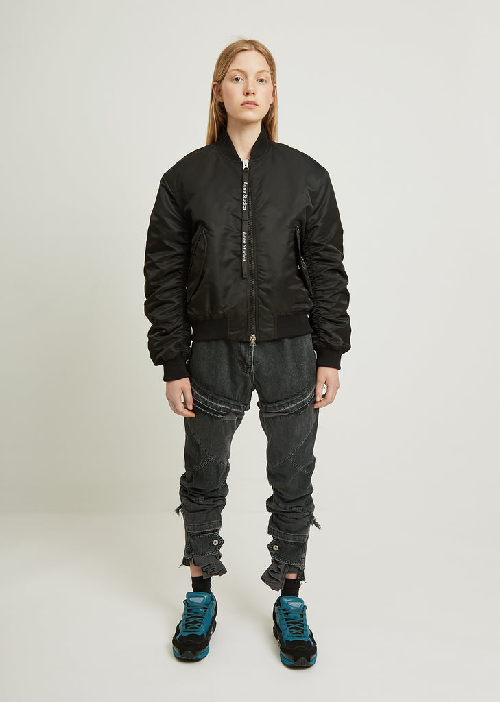 Clea Shirred Bomber