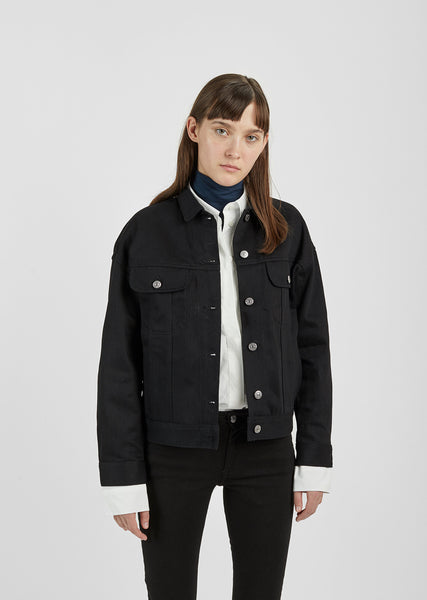 Lamp Black Denim Jacket