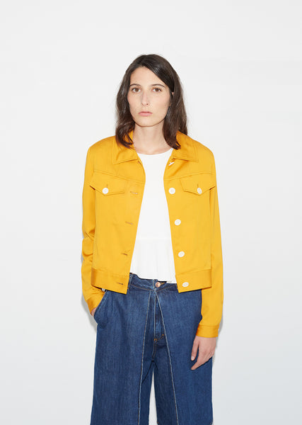 Sateen Blouson Jacket