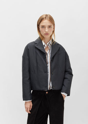 Short Pinstripe Jacket