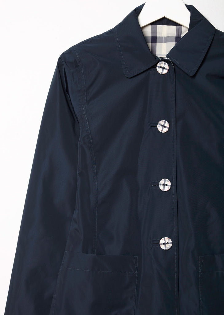 Reversible Derby Mac Jacket