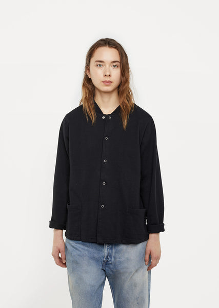 Unisex Snap Shirt Jacket