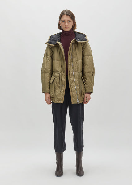 Bulle Belted Puffer Jacket
