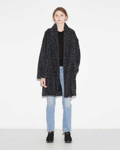 Isabel Marant Étoile Adams Easy Fur Jacket La Garconne