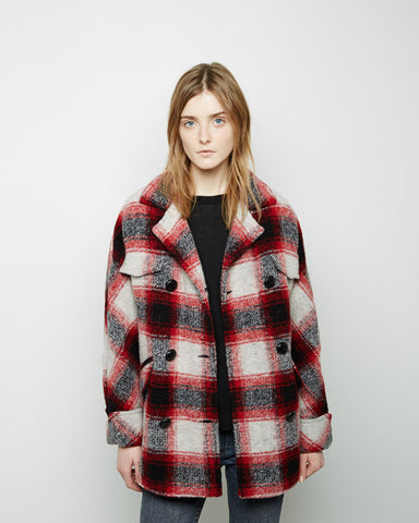 Gael Check Jacket