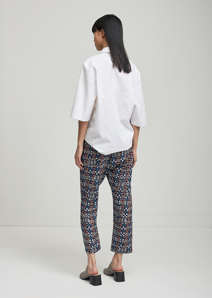 Noua Printed Cotton Trousers