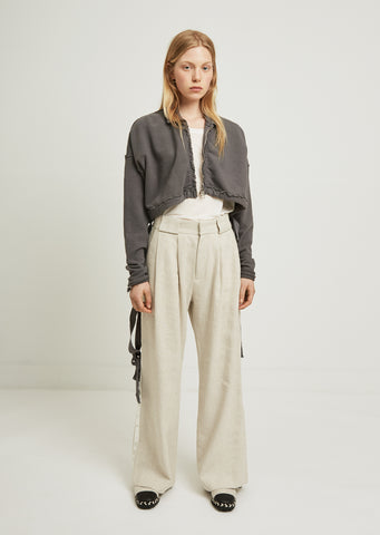 Brag Linen Cotton Trousers