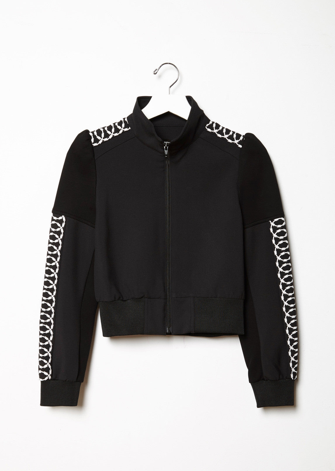 Track Jacket with Side Motif