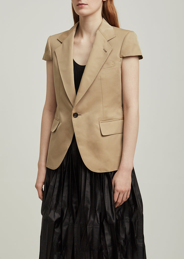 Cotton Polyester Gabardine Jacket