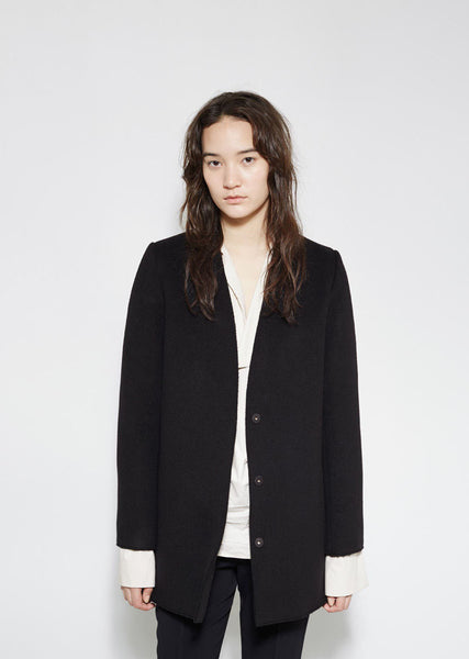 Marni Felted Wool Coat La Garconne