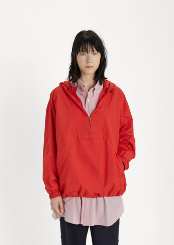 Technical Poplin Hooded Anorak
