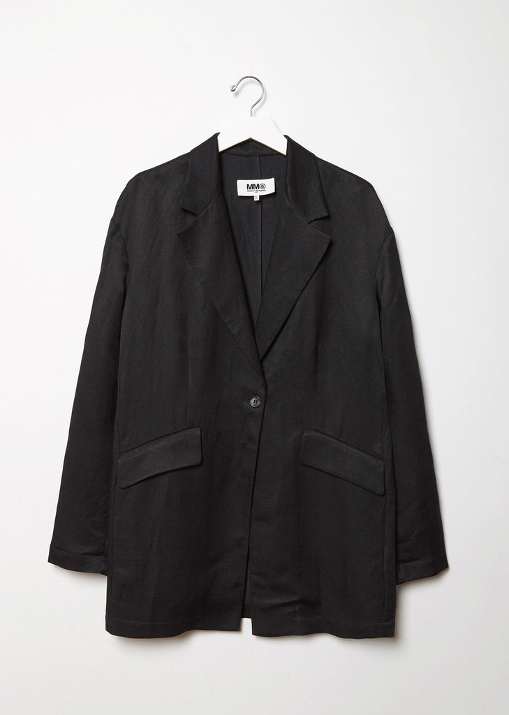 Shiny Panama Overcoat