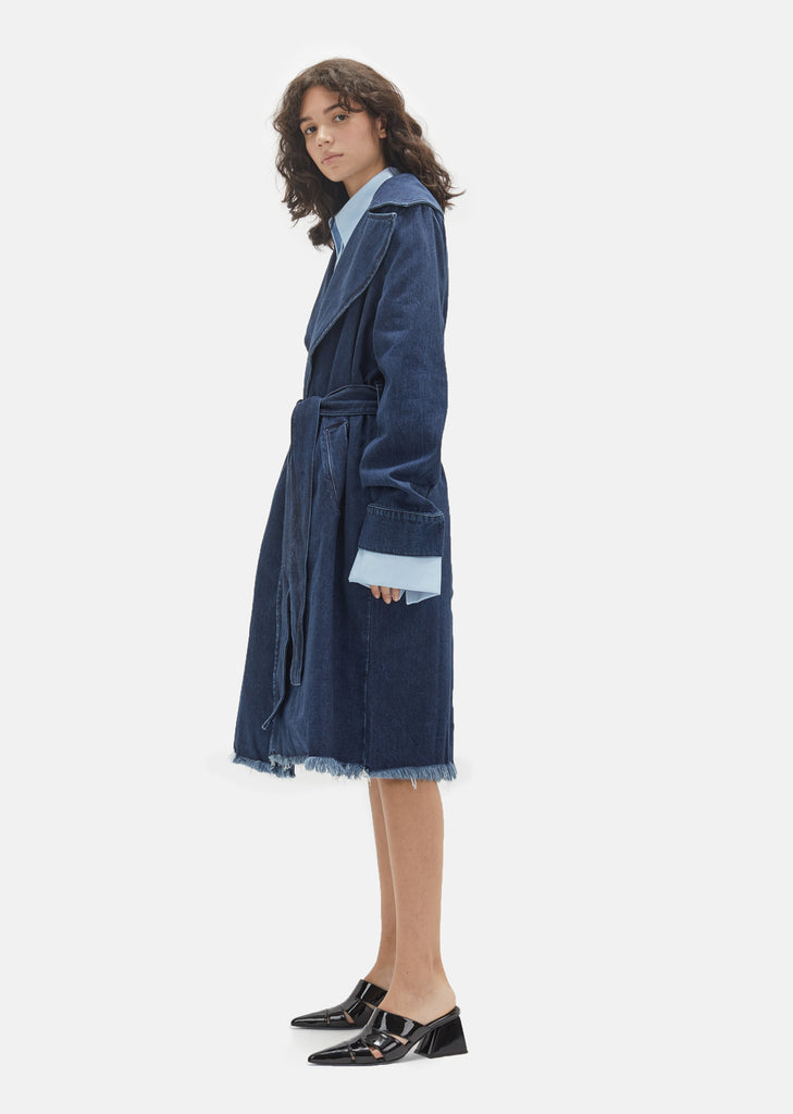 Denim Duster Coat