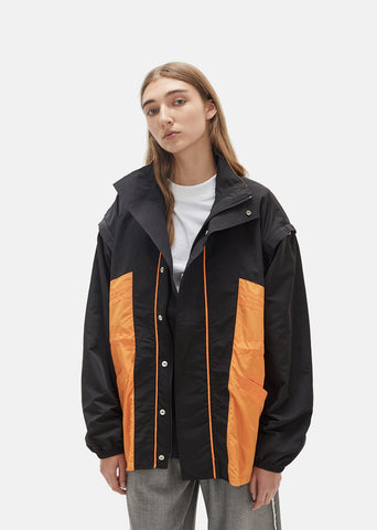 Drawcord Unisex Sports Jacket