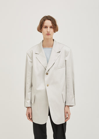 Satine Cotton Gabardine Jacket