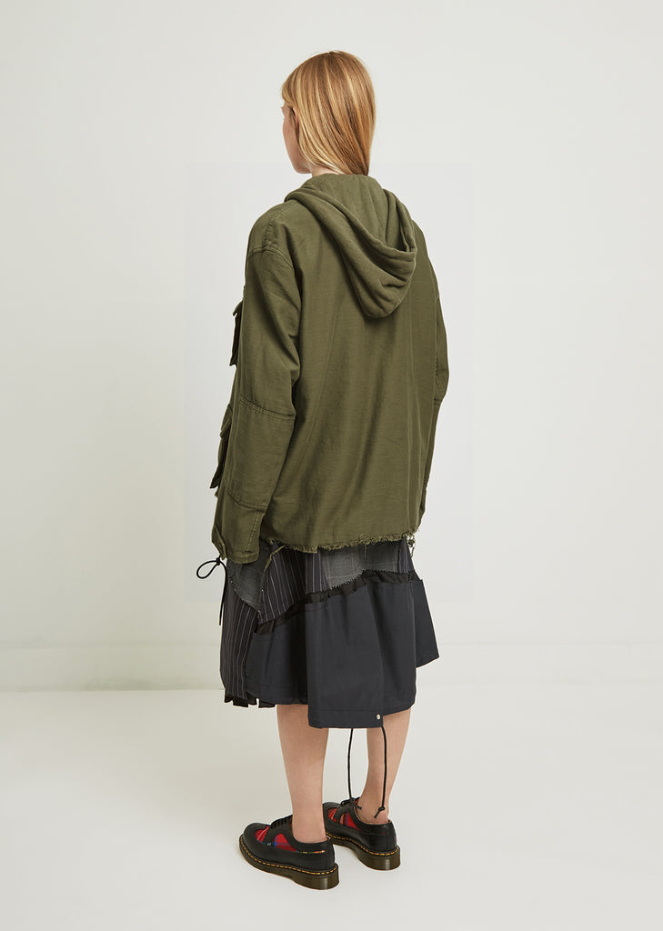 Hooded Abu Jacket