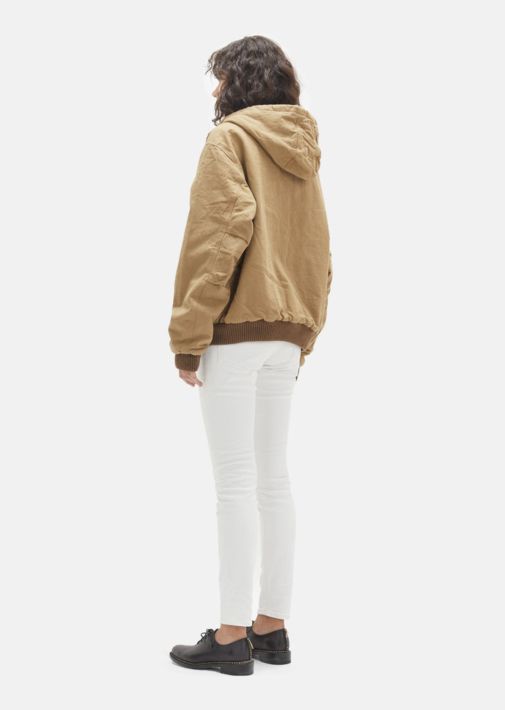 Hooded Cotton Duck Jacket