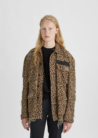 Shredded Leopard Abu Jacket