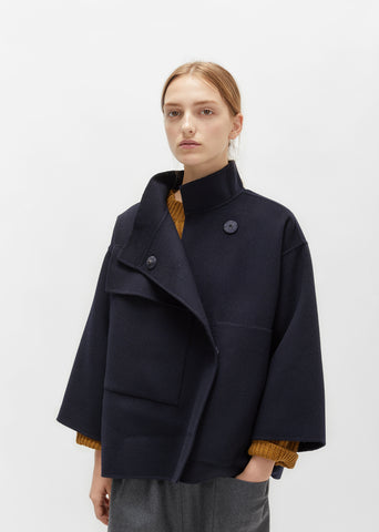 Double Faced Wool Cashmere Coat