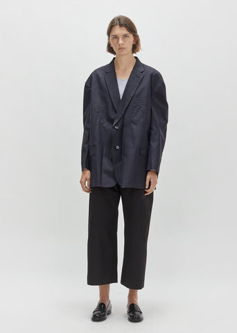 X Brioni Single Breasted Jacket