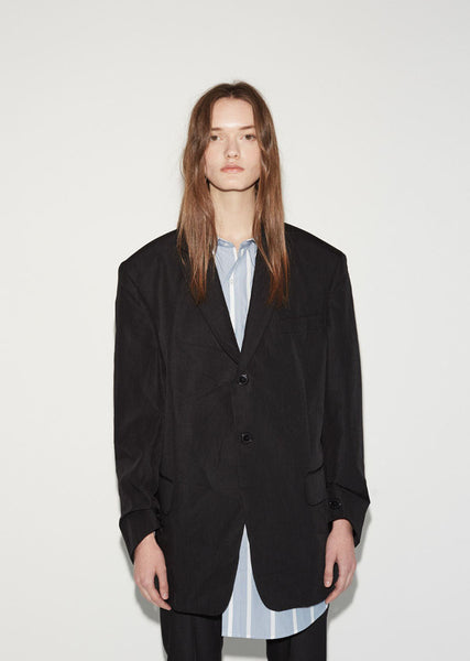 Vetements Fold up Suit Jacket La Garconne