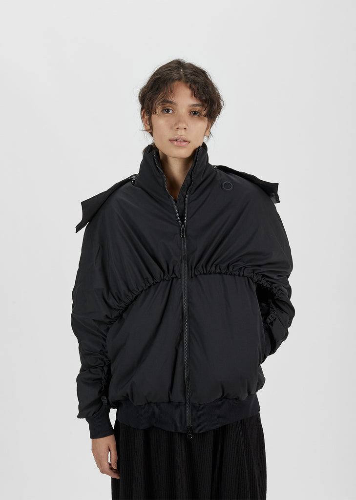 Ruched Down Jacket